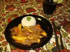 Peruvian Beef And Potatoes Stir-fry  Lomo Saltado!