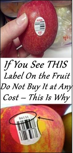 ORGANIC 😀 Most of us don't know that the stickers attached to the fruits and vegetables are there for more than just scanning the price. The PLU code, or the price lookup number on the sticker can help Potatoe Casserole Recipes, Sweet Potato Recipes, Healthy Tips, Healthy Recipes, Skinny Recipes, Beef Recipes, Sausage Recipes, Healthy Options, Healthy Habits
