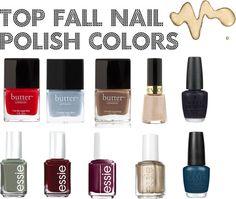 Top Fall Nail Polish Colors | jkfacee.wordpress.com