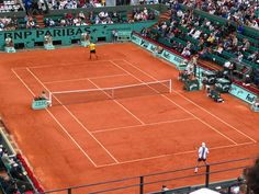 The French Open will be going on while we are in Paris. It seems impossibly expensive to even go see the outer courts, so I'm hoping to find a cool bar or outdoor screen to go watch some of the big matches!