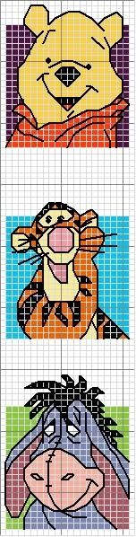 free tigger cross stitch pattern | Cross Stitch