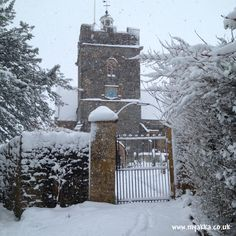 Beautiful #Somerset in the Snow!