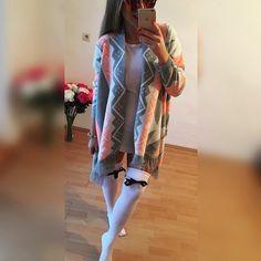 kardigán aztec style veľ.UNI 2990 bielo čierne podkolienky 35-42  obe veci máme ihneď k odberu #tvojstyl#fashion http://www.tvojstyl.fashion