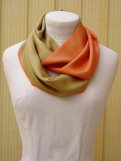10 Best SIlk snood scarves images   Snood, Snood scarf, Scarves 93b8de99ce8