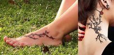 Weibliche Tätowierungen Kirschblüte  Tattoos  Ideen