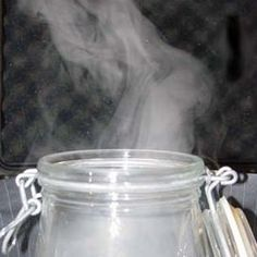 Esperimenti scientifici per bambini - creare le nuvole in bottiglia o in vaso 1