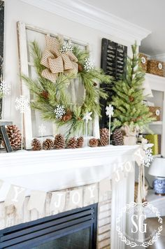 CHRISTMAS MANTELS THROUGH THE YEARS!