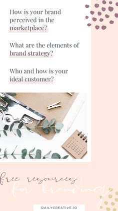 Do you need to design a logo? How does your current brand stand out in the marketplace? What about your ideal customer? Do you have clarity on who they are? Find answer to these questions with my free branding resources. Social Media Branding, Business Branding, Personal Branding, Business Marketing, Media Marketing, Branding Design, Logo Design, One Logo, Content Marketing Strategy