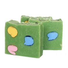 DIY Homemade Bamboo Scented Soap Recipe for Spring - Doesn't it remind you of Easter eggs in grass or wild flowers?