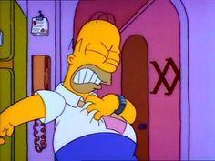 Heart attack Meme Dos Simpsons, The Simpsons, Simpson Wallpaper Iphone, Cartoon Wallpaper, Mundo Meme, Patrick Spongebob, Stupid Memes, Funny Memes, Reaction Pictures