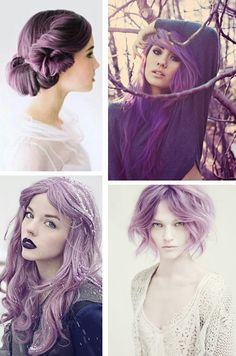 Trending Hair Colors: The Lush of Lavender