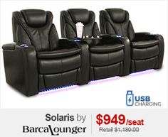 Barcalounger Solaris Home Theater Seats
