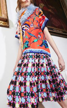 Emilio Pucci Pre Fall 2016 Look 15 on Moda Operandi