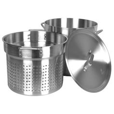 Thunder Group 12 Quart Aluminum Pasta Cooker Mirror Finish -- Visit the affiliate link Amazon.com on image for more details.
