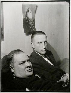 Joseph Stella and Marcel Duchamp.  Portraits by Man Ray, 1921-1937 - Retronaut