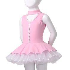 dancewear maravilloso algodón / spandex ballet tutu vestido para niños más colores – USD $ 39.99