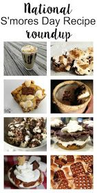 It is national S'mores day! What better way to celebrate than to bring you 8 different recipes from 8 different gals. Let's celebrate with a S'mores Blog Hop