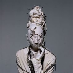 Irving Penn; straight jacket with style