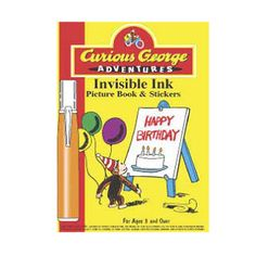 CG Adventures Invisible Ink