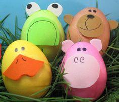 10 ideas fáciles y creativas para decorar tus huevos de Pascua | YaSabe.com Blog