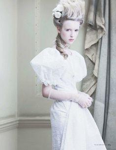 """Tatler UK Feb 2012 """"I'm Having a Marie Antoinette Moment"""""""