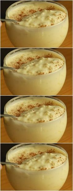 Cook rice in water with cloves and orange peel, # recipe # cake # pie # sweet # dessert # birthday # pudding # mousse # pave # Cheesecake # chocolate # confectionery # <-> <-> Köstliche Desserts, Delicious Desserts, Yummy Food, Sweet Recipes, Cake Recipes, Dessert Recipes, Portuguese Recipes, No Cook Meals, Food And Drink