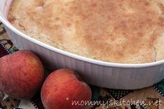 Mommy's Kitchen: Buttermilk Peach Cobbler