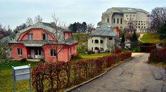 Dornach - Häuser am Albert Steffenweg