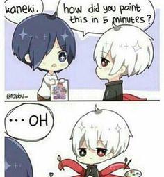 Hahaha!!! That's just great XD - Kaneki x Touka // TouKen