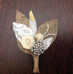 Handcrafted bespoke alternative buttonhole from Lilly Dilly's party hole Dilly's Alternative Buttonholes, Ushers, Button Hole, Budget Fashion, Wedding Weekend, Floral Bouquets, Wedding Groom, Bespoke, Etsy Seller