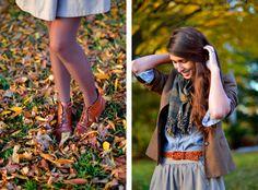 Fall Fashion via Fine and feathered
