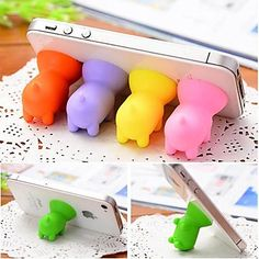 These pig stands are so cute!  Find it here in USD 1.79 with FREE SHIPPING
