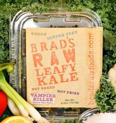Brad's Raw Chips - we love all the flavors especially nacho and vampire killer!