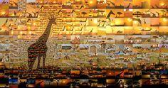 Incredible Photo  MosaicsNairobi, Kenya