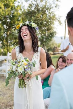 New Real Wed ♡ Ines&Francesco. An intimate, country-chic, lovely wedding. Take a look!