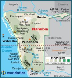 This is a Map of my most beloved country. I grew up in Namibia and although i'm currently not living there my heart will always go out to this love of mine.