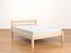 Standard Bed in Beeswax