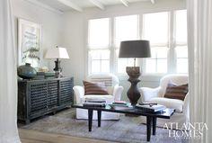 A living room alcove