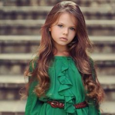 The sad moment when a 7 year old is way prettier then you.