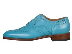 O'Quirey Berlino | Aqua | Colored Brogues