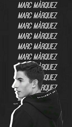 Marc Marquez wallpaper lockscreen #wallpaper #lockscreen #mm93 #dgp96 #darastyles Marc Marquez, Tumblr Boys, Tumblr Funny, Overwatch Winston, Black And White Wallpaper, Just Kidding, Motogp, Handsome Boys, Wallpaper Lockscreen