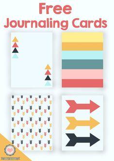 clear colours: Free Journaling Cards / Tarjetas PL gratis (II)