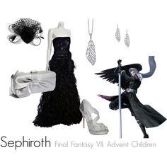 Sephiroth, created by tuffchica  Final Fantasy VII: Advent Children