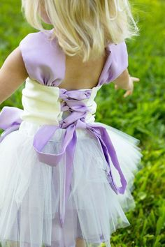 Lavender Flower Girl Dress--Lace--Tiered Tulle Skirt--Removable BellaBlossom Flower--Perfect for Weddings