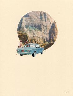 Les collages vintage d'Amy Alice Thompson