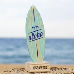 tabla-de-surf-para-la-decoracion-surfera-Aloha-azul-azul