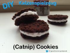 diy katzenspielzeug, katzen spielzeug selbst machen, catnip cookies
