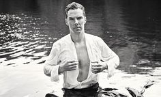 Benedict Cumberbatch gets wet for charity again to recreate that Mr Darcy moment