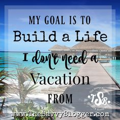 Blogging for profit and building a laptop lifestyle...a life you don't need a vacation from! http://www.thesavvyblogger.com