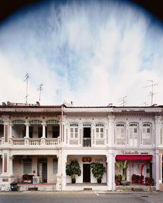 19th-century facade in Singapore's Joo Chiat neighborhoo